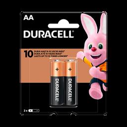 leve 3 und - Pilha Alcalina AA Pequena DURACELL com 2 unidades