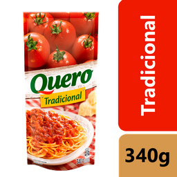 leve 3 Und - Molho de Tomate Quero Tradicional Sachê 340g