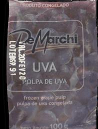 Leve 3 Und - Polpa Fruta Demarchi Uva 100G