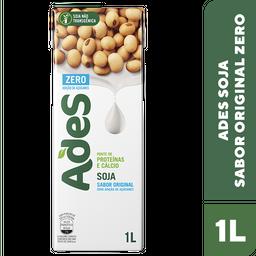 Leve 3 Und - Bebida de Soja Zero sabor Original Ades 1 Litro