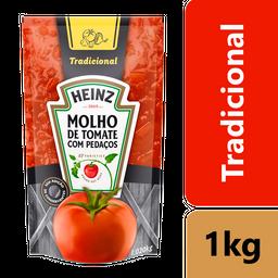 leve 3 Und - Molho de Tomate Heinz Tradicional Sachê 1,020kg