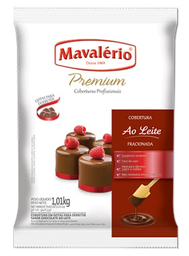 Leve 3 Und - Cobertura Mavalerio Prem 1,01Kg Ao Leite