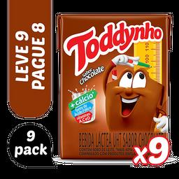 Leve 3 Pack Bebida Láctea UHT Chocolate Toddynho 1,8l