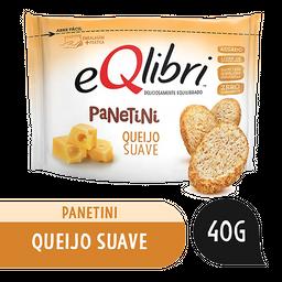 Leve 3 Snack Queijo Suave Eqlibri Panetini Pacote 40g