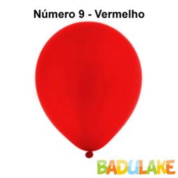 Leve 3 Und - Balao Festball C/50 Tam 8 Vermelho