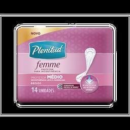 Leve 3 Und - Protetor Médio PLENITUD FEMME - 8 unidades