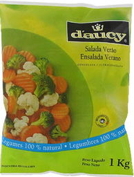 Leve 10 Und  Salada Verao Daucy 1Kg