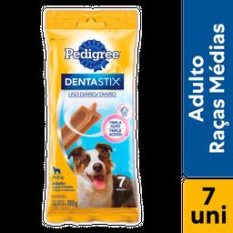 leve 10 Und - Petisco Pedigree Dentastix Cães Adultos Médias