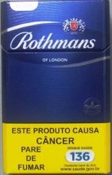 Leve 10 Und - Cigarro Rothmans Blue Box