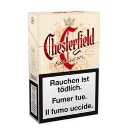 Leve 10 Und  Cigarro Chesterfild Original Box