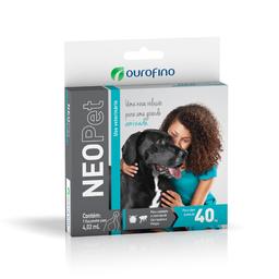 Neopet Antipulgas e Carrapatos para Cães Acima de 40 Kg