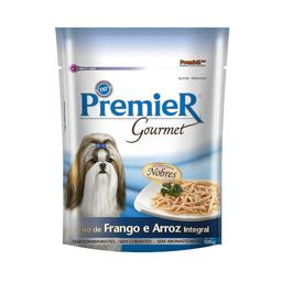 Alimento Úmido Premier Cães Gourmet Frango Arroz Integral 100 G