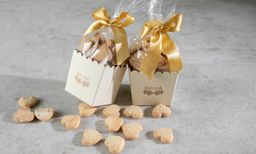 Biscoitos Amanteigados de Amêndoas