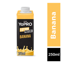 LEVE 6 PAGUE 5 Yopro Bebida Lactea Com De Proteína Banana