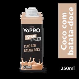 Yopro Bebida Lactea Com De Proteína Coco E Batata Doce