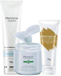 Kit Renew Limpeza Facial