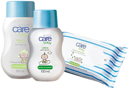 Kit Avon Care Baby