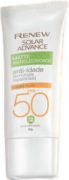 Renew Ultra Matte Protetor Solar Anti-Idade FPS50