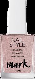 Mark. Nail Style Crystal Esmalte Rosa Crystal