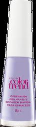 Avon Color Trend Cobertura Brilhante Secagem Rápida p/ Esmaltes