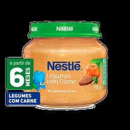 leve 6 und - Papinha NESTLÉ legumes com carne 115g