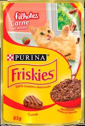 leve 6 und - Friskies Filhotes Carne Ao Molho 15X85G