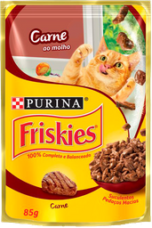 leve 6 und - Friskies Carne Ao Molho 15X85G