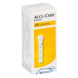 Roche Accu Chek Softclix Com 25 Lancetas