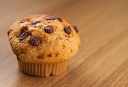 Muffin Baunilha Com Gotas De Chocolate