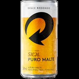 Cerveja Skol Puro Malte 269mL