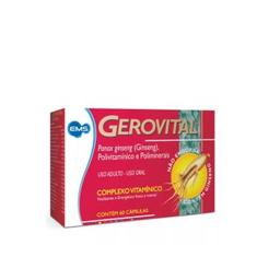 EMS Gerovital Complexo Vitaminico 60 Capsulas Gelatinosas