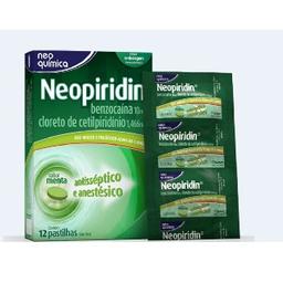 Neo Química Neopiridin 12 Pastilhas