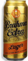 Cerveja Brahma Extra Lager Lata 473 mL