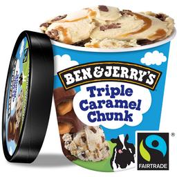 Sorvete Ben e Jerry s Triple Caramel Chunk - 458ml