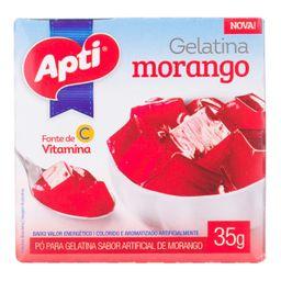 Gelatina Pó Morango Apti 35 g