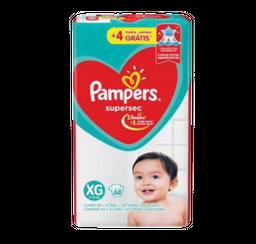 Pampers Und-fralda Jumbo Xg Com 64 Grátis 4