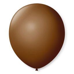 Balão Festball Com 50 Und Tam 9 Marrom