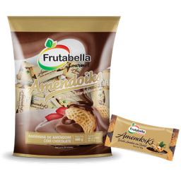 Barrinha Goiaba Com Chocolate Fruta Bella 68 g