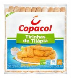 Copacol Tirinha De Tilapia Empanado