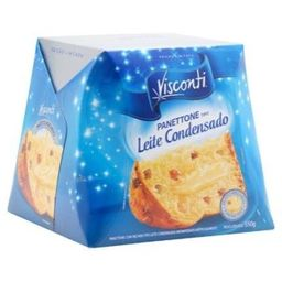 Panettone Leite Condensado Visconti Fta 550 g