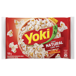 Pipoca Yoki Natural 100 g