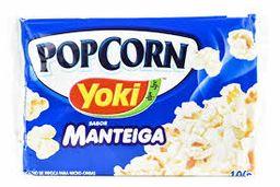 Pipoca Yoki Com Manteiga 100 g