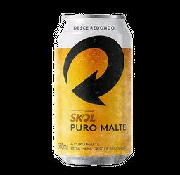 Cerveja Skol Puro Malte 350 ml Lata