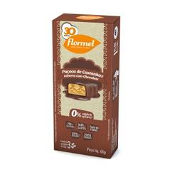 Paçoca Castanha Chocolate Zero 25 g 24 Und