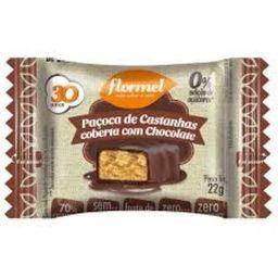 Paçoca Castanha Chocolate Zero 25 g Und