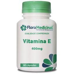 Vitamina E 400 Mg 60 Cápsulas