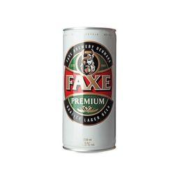 Faxe Cerveja Premium Latao