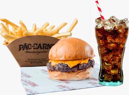 Cheese Burger + Fritas + Refrigerante