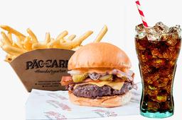 Burger Aniversário + Fritas + Refrigerante
