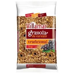 Leve 3 Und - Granola Villamar Pacote 1 Kg Tradicional